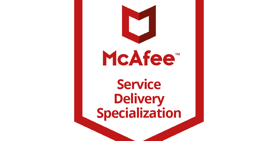 McAfee Service Delivery Specialization-Logo