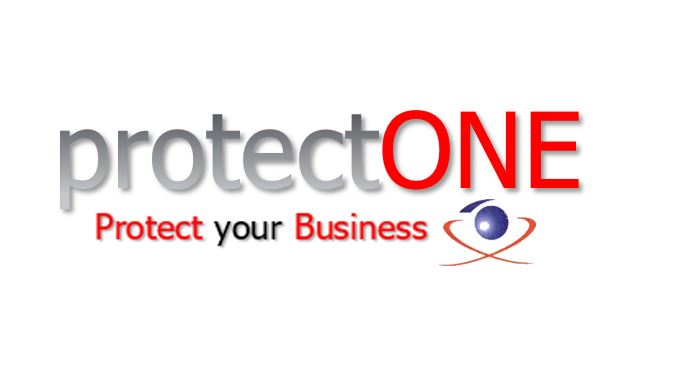 protectONE. Protect your business-Logo