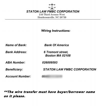 Bankdaten eines Unternehmens