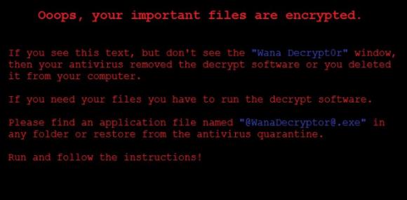 Anzeige einer Fehlermeldung über verschlüsselte Dateien
